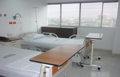 Hospitalización | Cosmitet Ltda.